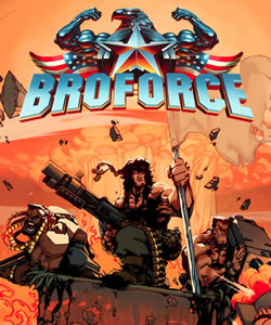 Capa de Broforce
