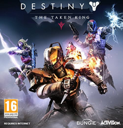 Capa de Destiny: The Taken King