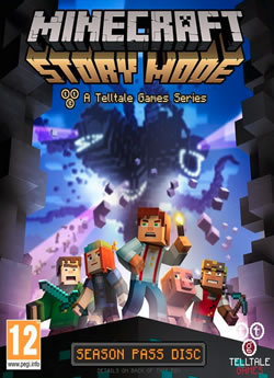 Capa de Minecraft: Story Mode