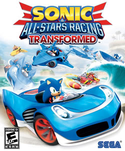 Capa de Sonic & All-Stars Racing Transformed