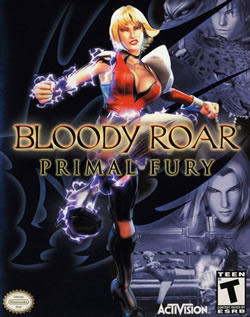 Capa de Bloody Roar: Primal Fury