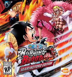 Capa de One Piece: Burning Blood