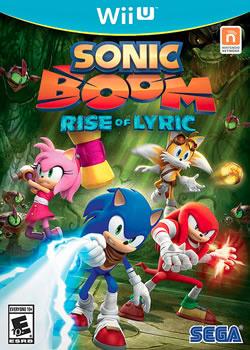 Capa de Sonic Boom: Rise of Lyric