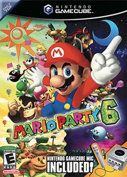 Capa de Mario Party 6