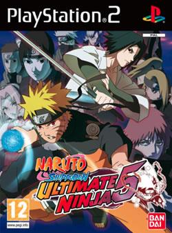 Capa de Naruto Shippuden: Ultimate Ninja 5