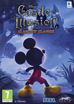 Capa de Castle of Illusion Starring Mickey Mouse