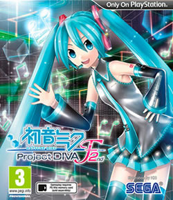 Capa de Hatsune Miku Project Diva F 2nd