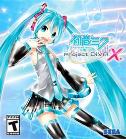 Capa de Hatsune Miku: Project Diva X