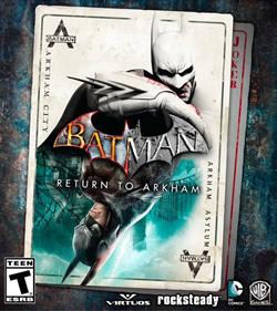 Capa de Batman: Return to Arkham