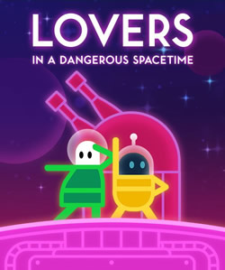 Capa de Lovers in a Dangerous Spacetime