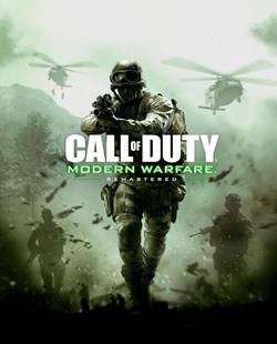 Capa de Call of Duty: Modern Warfare Remastered