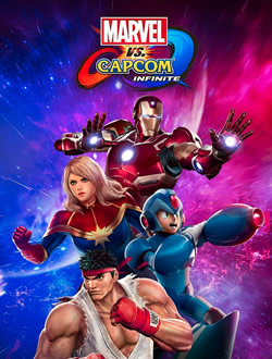 Capa de Marvel vs. Capcom Infinite