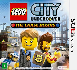 Capa de LEGO City Undercover: The Chase Begins