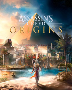 Capa de Assassin's Creed Origins