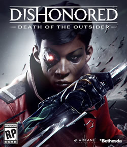 Capa de Dishonored: Death of the Outsider