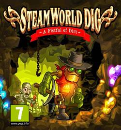 Capa de SteamWorld Dig
