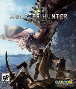 Capa de Monster Hunter: World