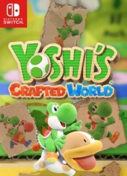 Capa de Yoshi's Crafted World