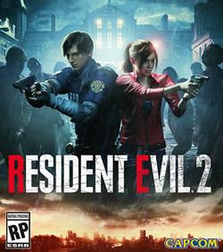 Capa de Resident Evil 2