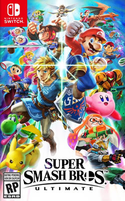 Capa de Super Smash Bros. Ultimate