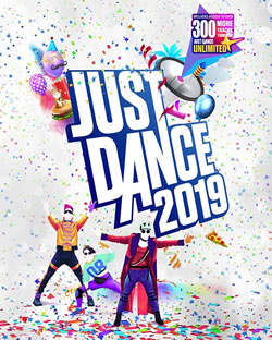 Capa de Just Dance 2019