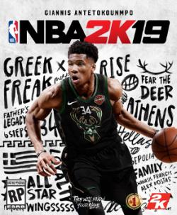 Capa de NBA 2K19