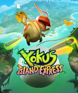 Capa de Yoku's Island Express