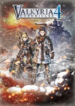 Capa de Valkyria Chronicles 4