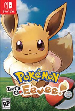 Capa de Pokémon: Let's Go, Eevee!