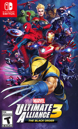 Capa de Marvel Ultimate Alliance 3: The Black Order
