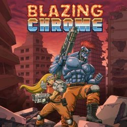 Capa de Blazing Chrome