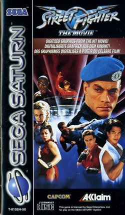 Capa de Street Fighter: The Movie