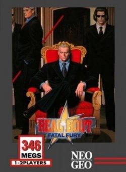 Capa de Real Bout Fatal Fury