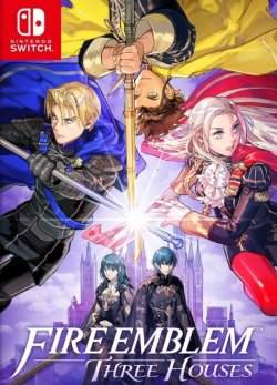 Capa de Fire Emblem: Three Houses
