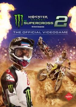 Capa de Monster Energy Supercross - The Official Videogame 2