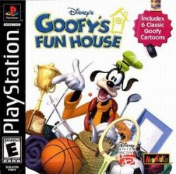 Capa de Goofy's Fun House