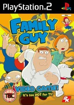 Capa de Family Guy Video Game!