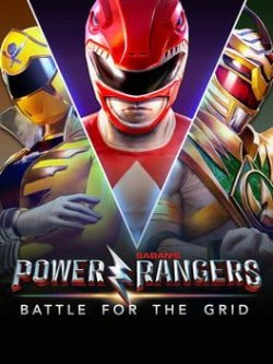 Capa de Power Rangers: Battle for the Grid