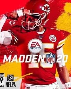 Capa de Madden NFL 20