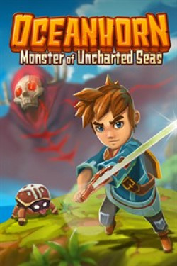 Capa de Oceanhorn: Monster of Uncharted Seas