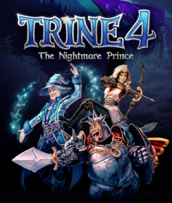 Capa de Trine 4: The Nightmare Prince