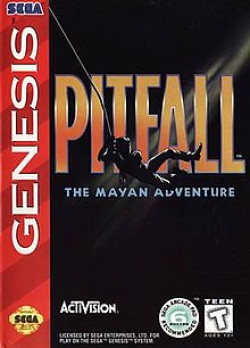 Capa de Pitfall: The Mayan Adventure