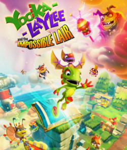 Capa de Yooka-Laylee and the Impossible Lair