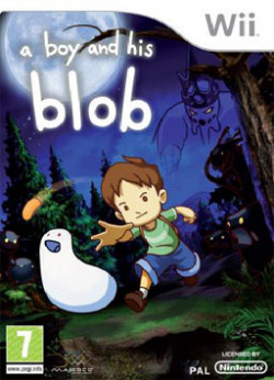 Capa de A Boy And His Blob
