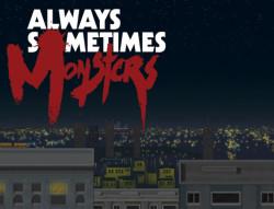 Capa de Always Sometimes Monsters