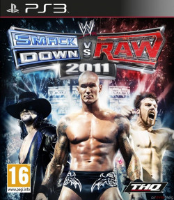 Capa de WWE SmackDown vs. RAW 2011