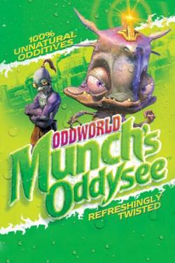 Capa de Oddworld: Munch's Oddysee