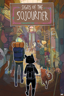Capa de Signs of the Sojourner