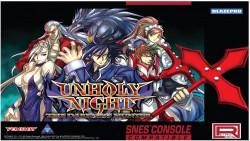 Capa de Unholy Night