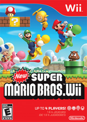 Capa de New Super Mario Bros. Wii